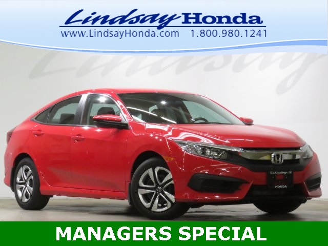 Certified Pre-Owned 2017 Honda Civic LX